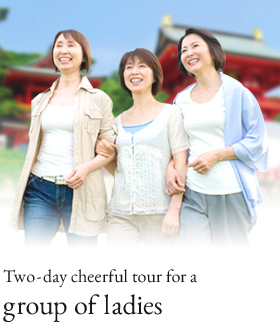 Two-day cheerful tour for a group of ladies