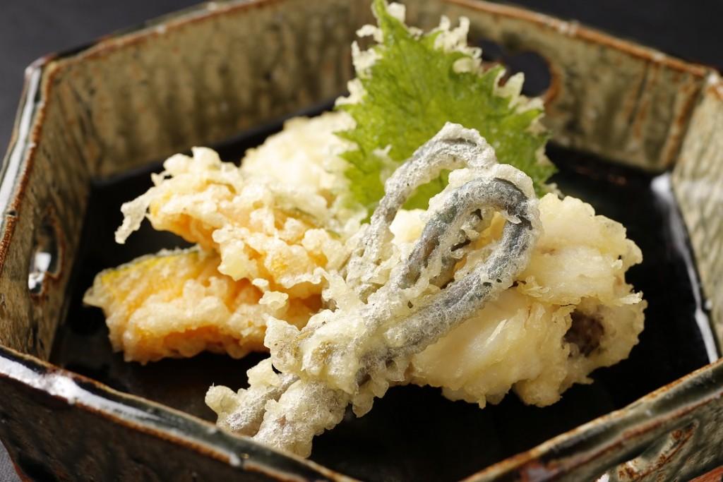 とらふくと野菜 天ぷら
